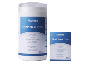CPAP mask cleansing wipes_ResMed