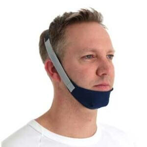Chin restraint sleep apnoea patient therapy-ResMed Middle East