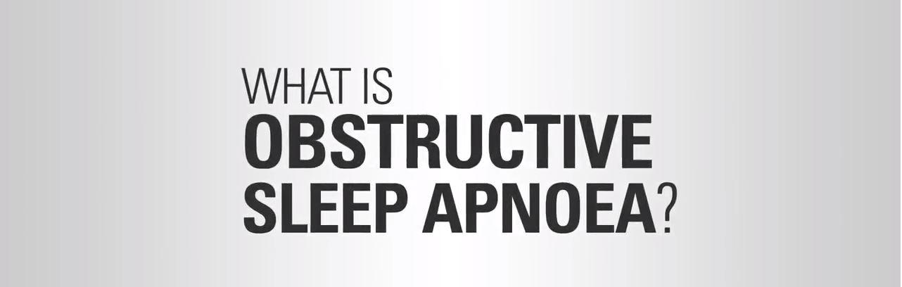 sleep apnea definition in video by resmed