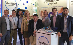 ResMed's team during a professional event