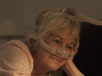 AirFit N30i tube up nasal CPAP mask sleep apnoea patient-ResMed Middle East