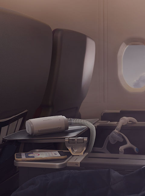 CPAP travel with sleep apnea - tips - ResMed Middle East